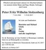 Peter Fritz Wilhelm Stolzenburg