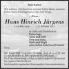 Hans Hinrich Jürgens