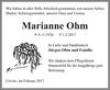 Marianne Ohm