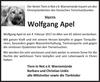 Wolfgang Apel