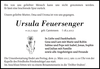 Ursula Feuersenger