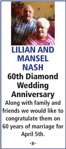Anniversary notice for LILIAN