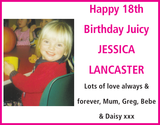 Juicy JESSICA LANCASTER : Birthday