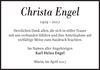 Christa Engel